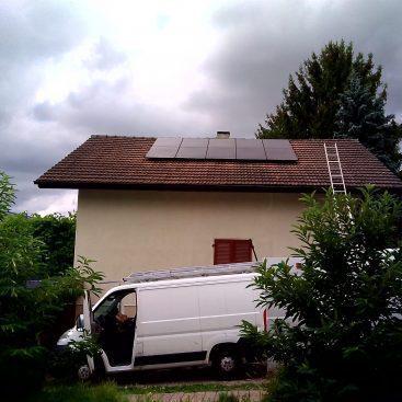 Installation panneaux solaires Fribourg