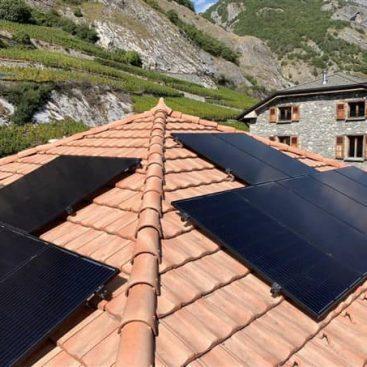 Installation photovoltaïques valais