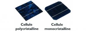 Les principaux types de cellules photovoltaïque