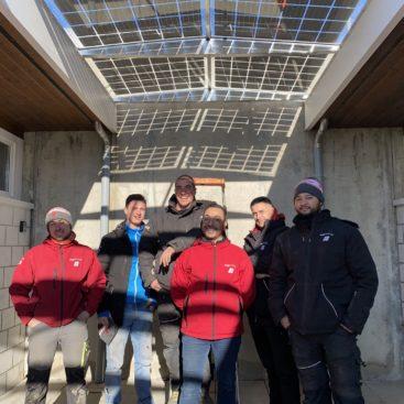 Verrière Solaire Photovoltaique