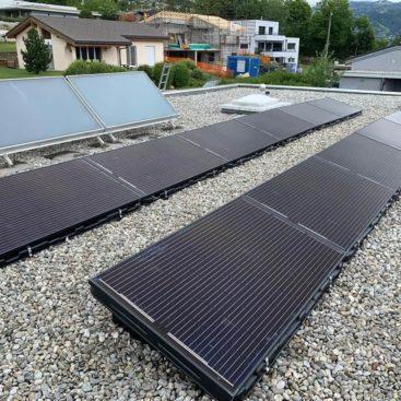 photovoltaïques toit plat
