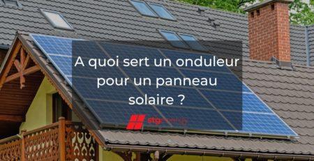 onduleur pour panneaux photovoltaïques