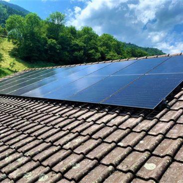Panneaux solaires Choex