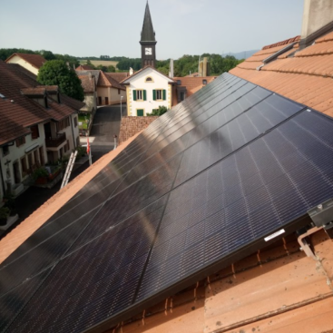 installation 26 panneaux STG Energy