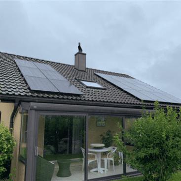 18 panneaux photovoltaïque STG ENERGY