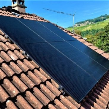 Panneaux solaires Ollon