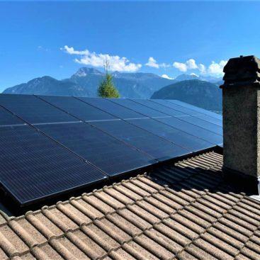 panneaux photovoltaique crans montana