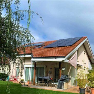 Panneaux photovoltaique Attalens