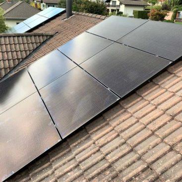 Panneaux photovoltaique ollon