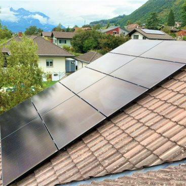 Panneaux solaire Ollon