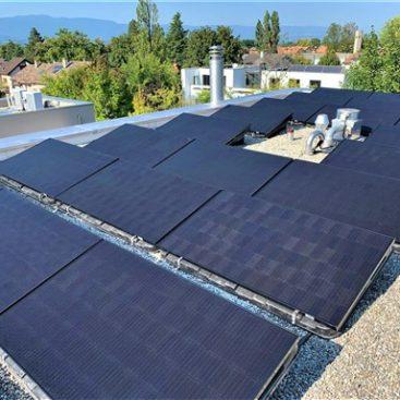 panneaux solaire vesenaz
