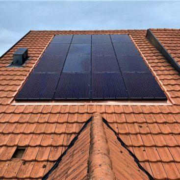 panneaux solaires intégré sugiez